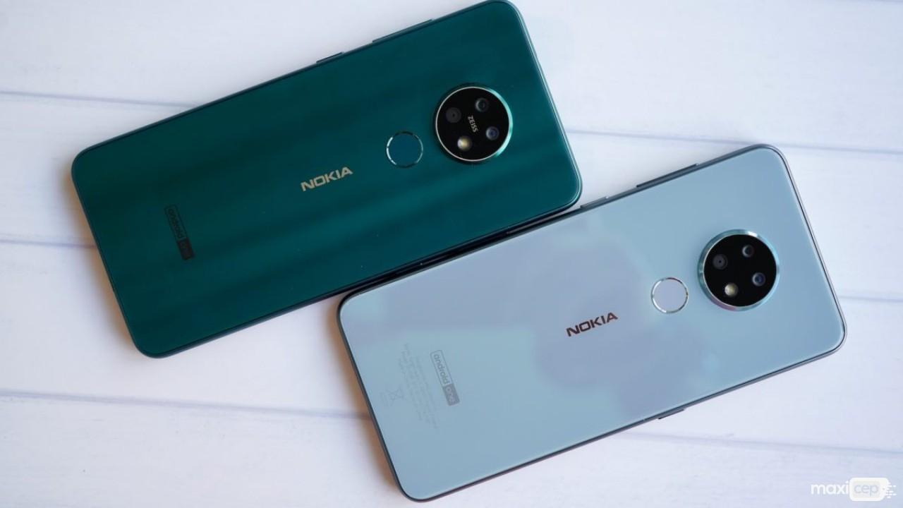 Nokia'nın Üç Arka Kameralı Yeni Cihazları Nokia 7.2 ve Nokia 6.2 Tanıtıldı