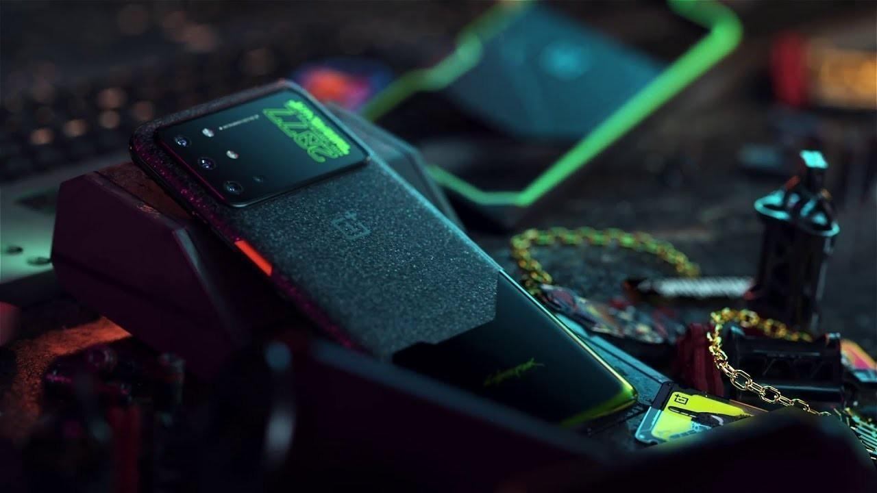 OnePlus 8T Cyberpunk 2077 Edition Duyuruldu
