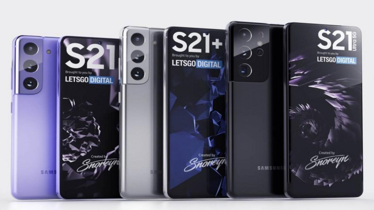 Samsung Galaxy S21 ailesinin yeni render görüntüleri yayınlandı
