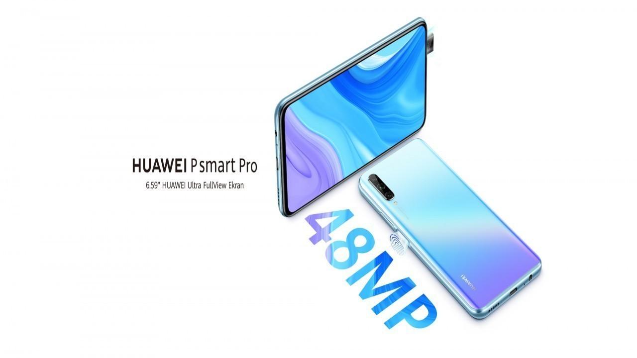 Huawei P Smart Pro Türkiye'de satışa sunuldu