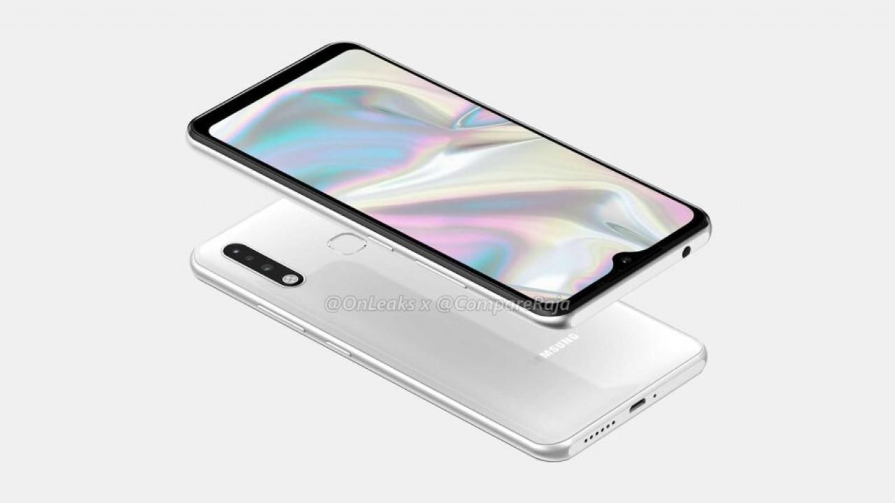 Samsung Galaxy A70e render görüntüsü ile ortaya çıktı