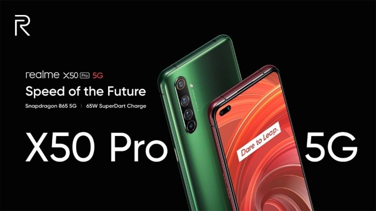 Realme X50 Pro resmi olarak duyuruldu