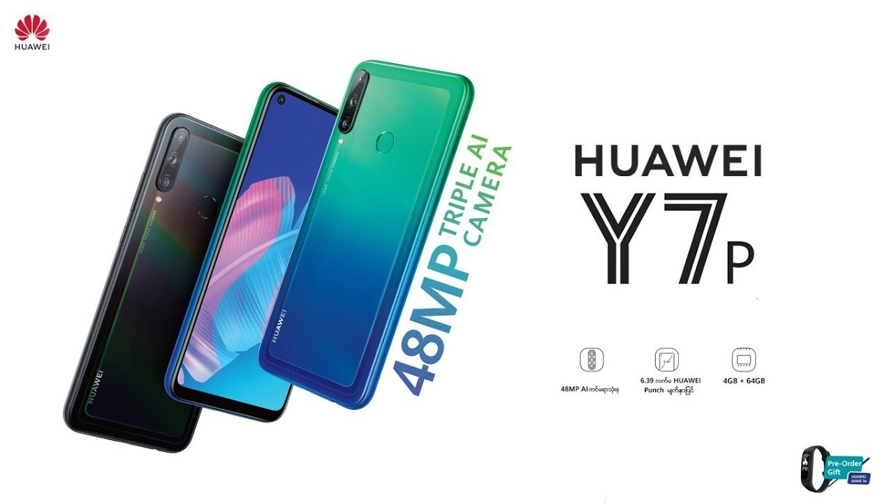 Huawei Y7p resmi olarak duyuruldu