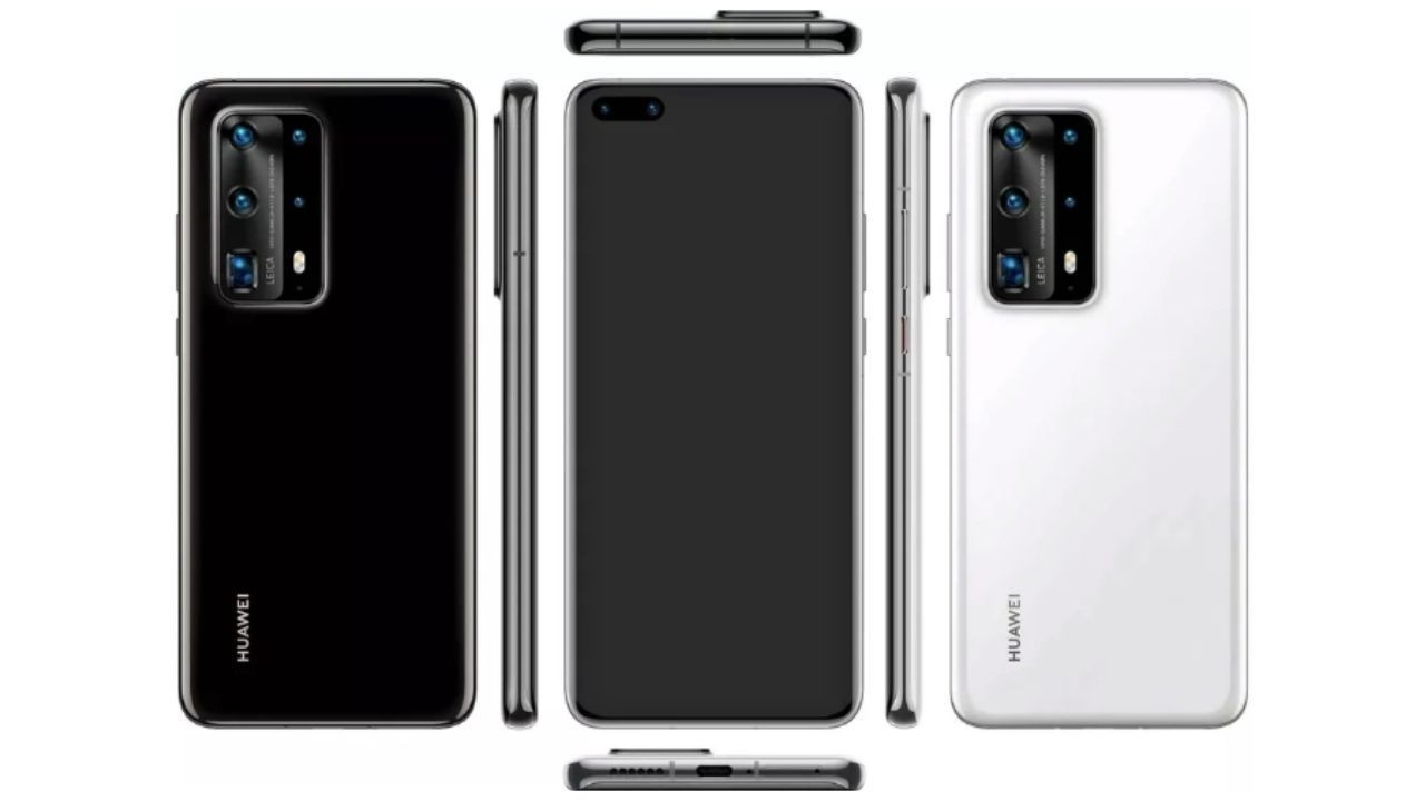 Huawei P40 serisinin resmi basın görseli sızdırıldı