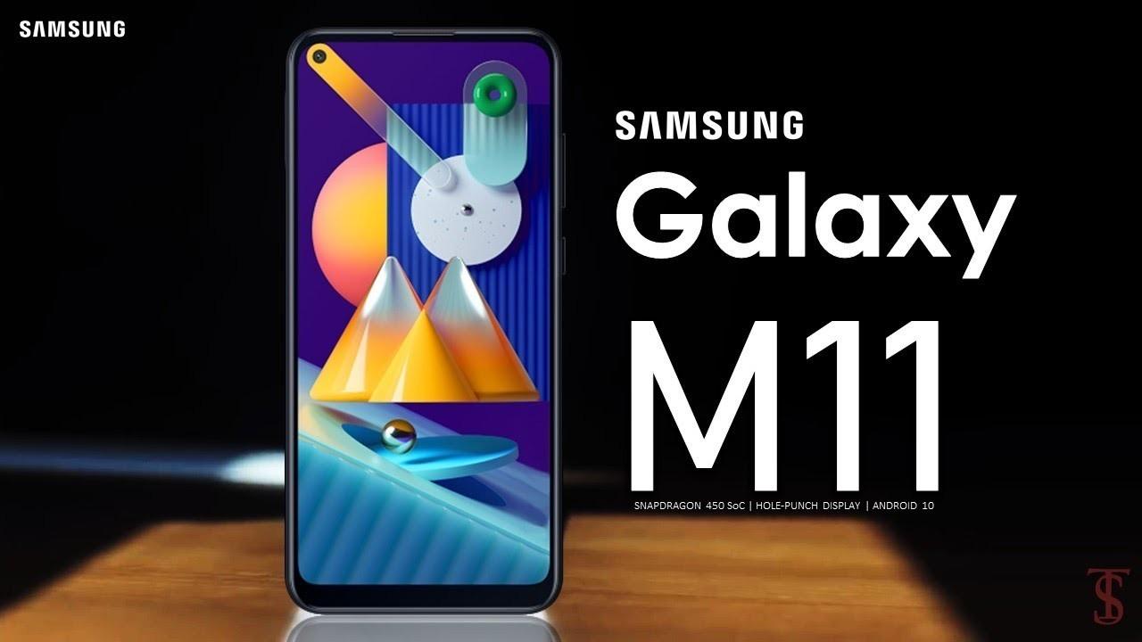 Samsung Galaxy M11 resmi olarak duyuruldu