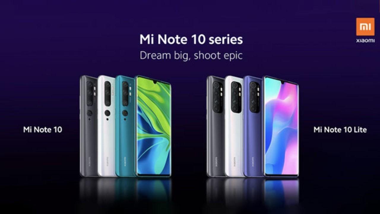 Xiaomi Mi Note 10 Lite teknik özellikleri ve fiyatı sızdırıldı