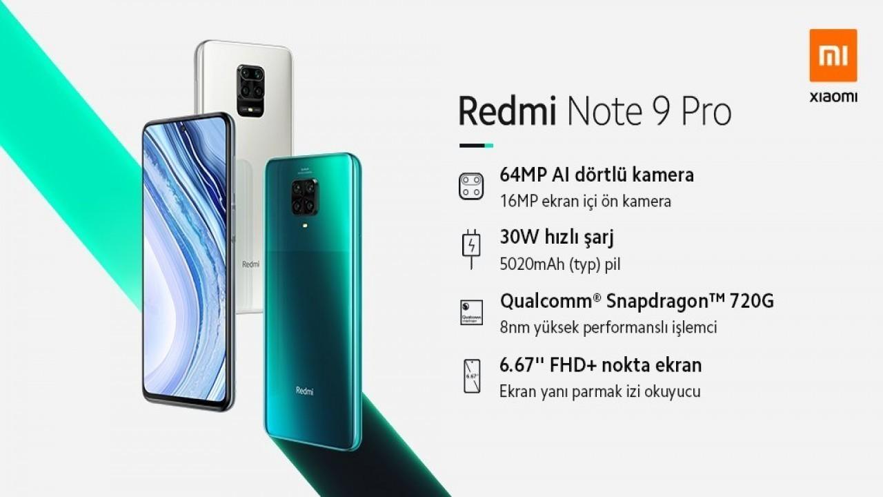 Redmi Note 9 Pro Türkiye fiyatı belli oldu
