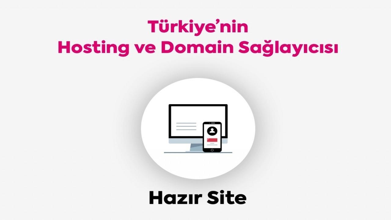 hosting.com.tr Hazır Site İle Kendi Web Siteni Kur