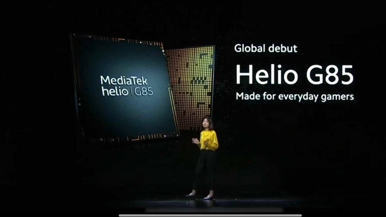 Mediatek, Helio G85 işlemcisini duyurdu