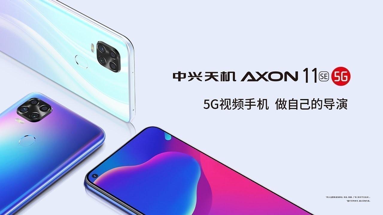 ZTE Axon 11 SE 5G resmi olarak duyuruldu