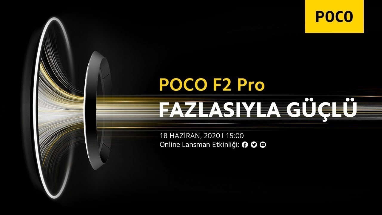 POCO F2 Pro'nun Türkiye Tanıtım Tarihi Açıklandı