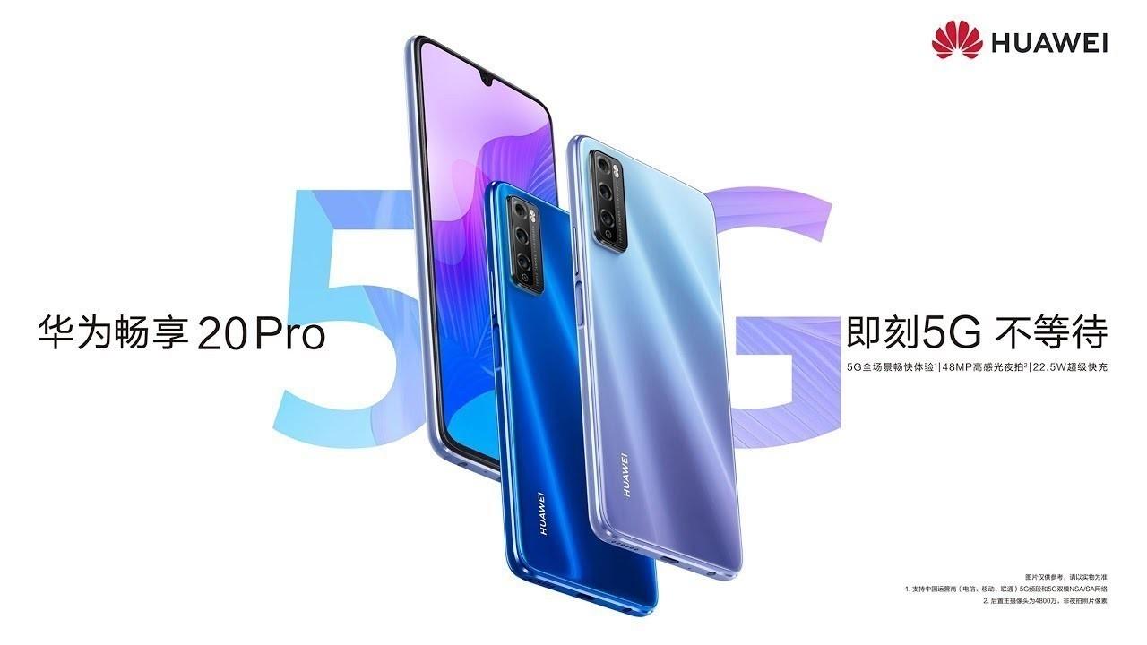 Huawei Enjoy 20 Pro resmi olarak duyuruldu
