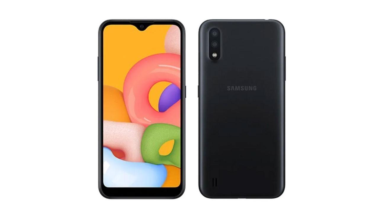 Samsung Galaxy M01 resmi olarak duyuruldu