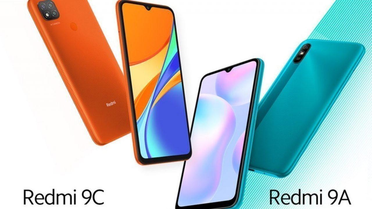 Redmi 9A ve Redmi 9C resmi olarak duyuruldu
