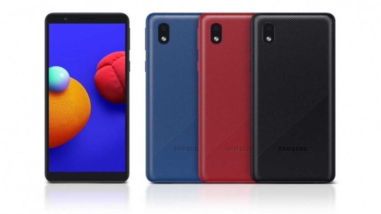 Samsung Galaxy A01 Core resmi olarak duyuruldu