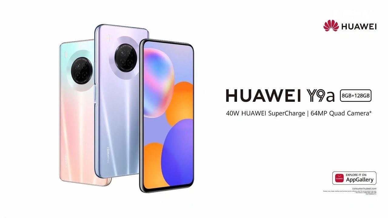 Huawei Y9a resmi olarak duyuruldu