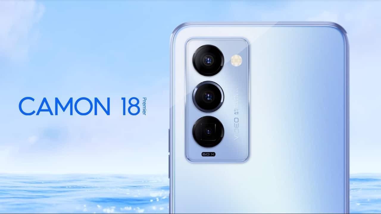 Tecno Camon 18 Premier resmi olarak duyuruldu