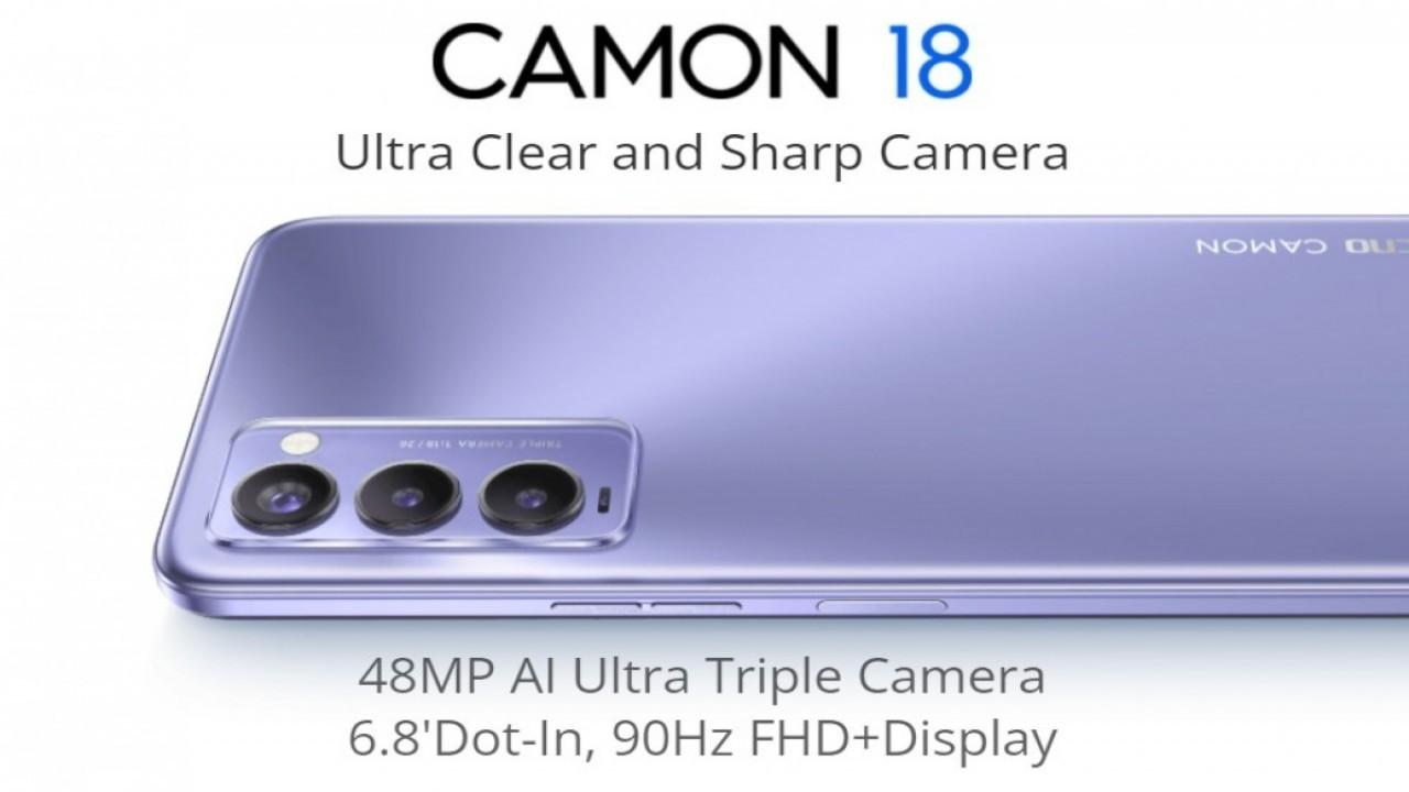 Tecno Camon 18 ve 18P resmi olarak duyuruldu