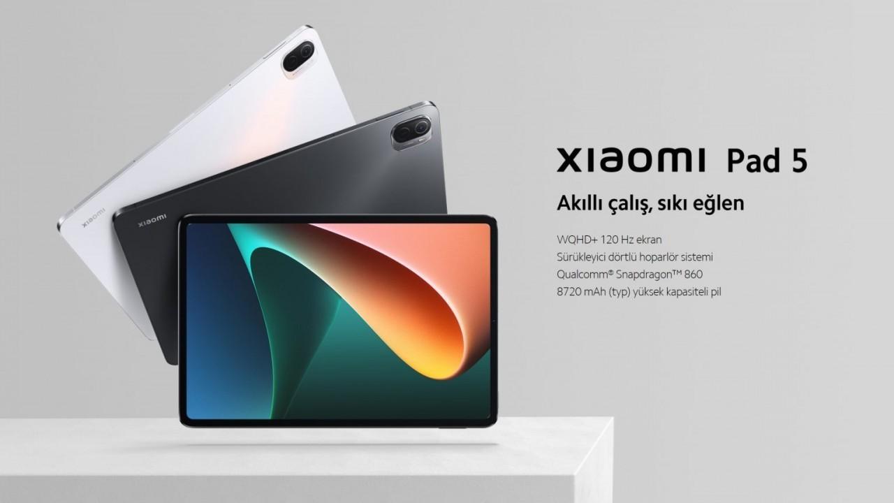 Xiaomi Pad 5 Türkiye'de satışa çıktı