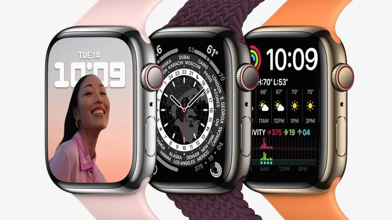 Apple Watch Series 7 Türkiye'de ön siparişe sunuldu