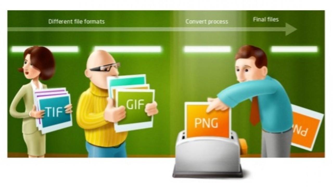 reaConverter: Milyonlarca dosyayı tek bir işlemle dönüştürün