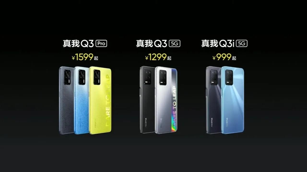 Realme Q3 serisi resmi olarak duyuruldu