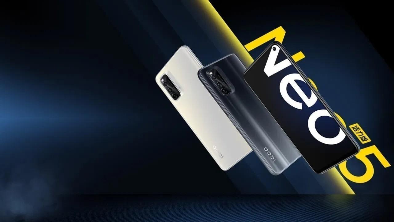 Vivo iQOO Neo5 Lite resmi olarak duyuruldu