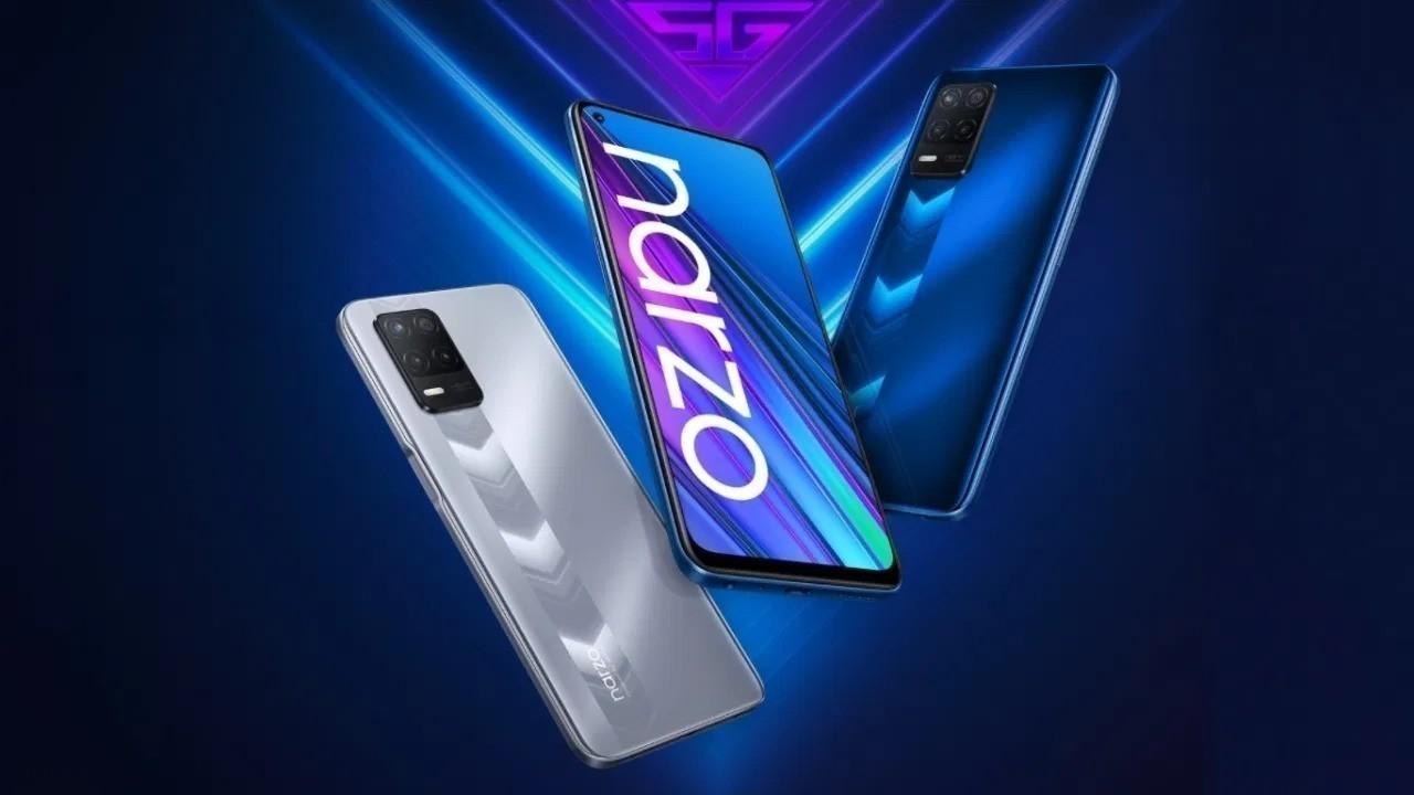 Realme Narzo 30 5G resmi olarak duyuruldu