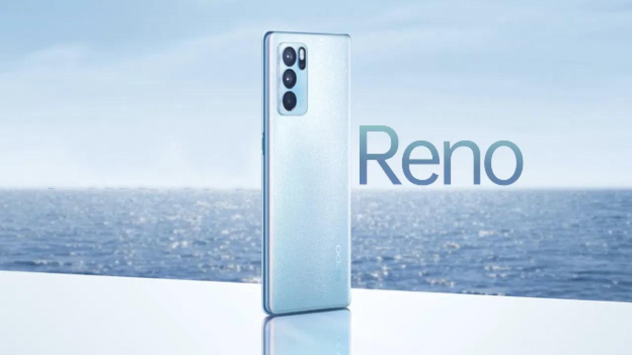 Oppo Reno6 serisi resmi olarak duyuruldu