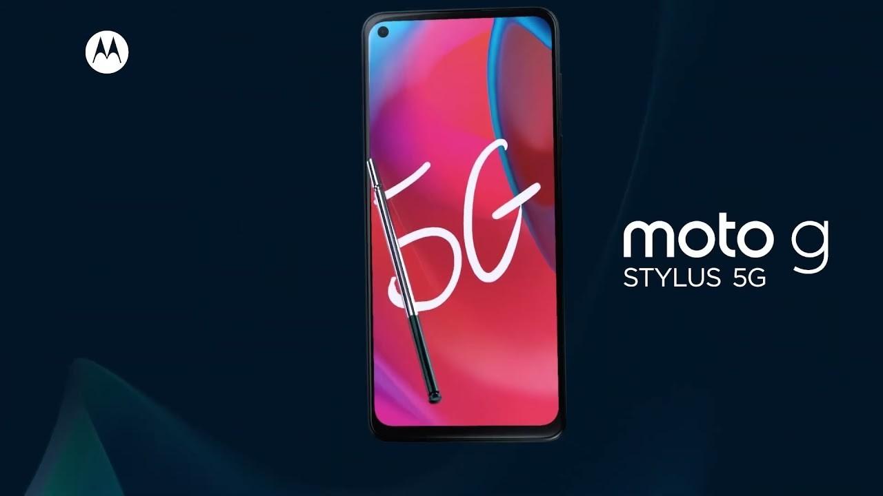 Moto G Stylus 5G resmi olarak duyuruldu