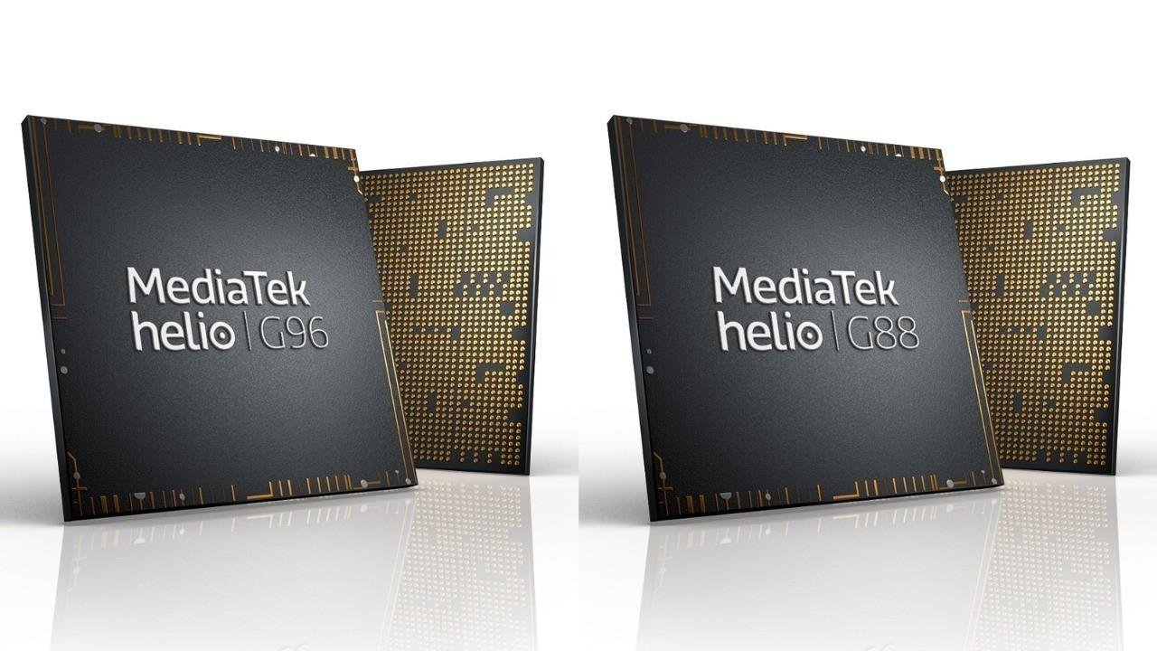 MediaTek, Helio G96 ve Helio G88 işlemcisini duyurdu
