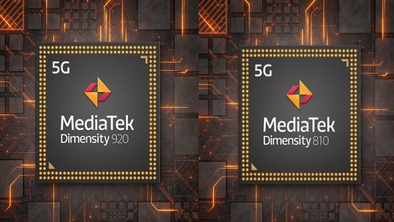 MediaTek, Dimensity 920 ve Dimensity 810 işlemcisini duyurdu