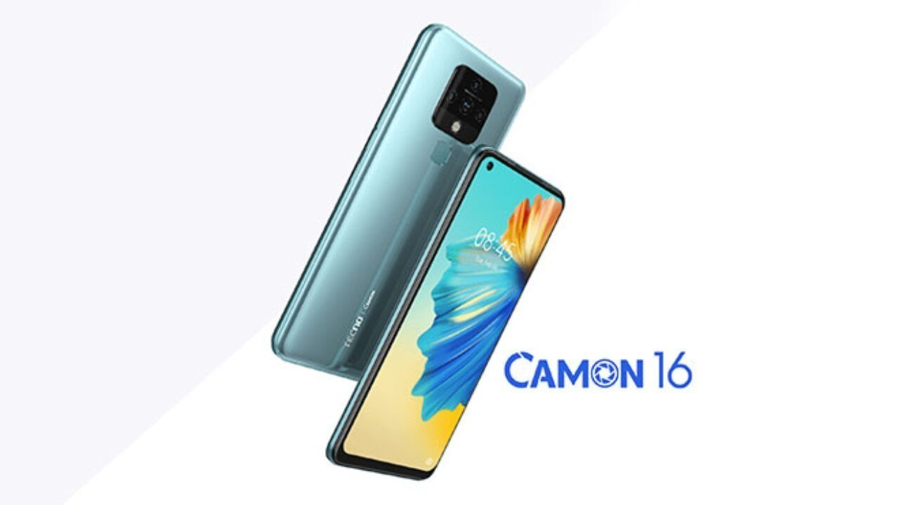 Tecno Camon 16 Türkiye'de satışa sunuldu