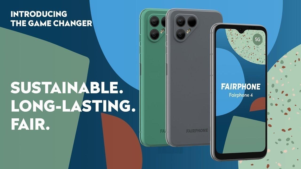 Fairphone 4 resmi olarak duyuruldu