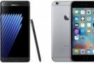Galaxy Note 7, iPhone 6S'den daha mı güçlü?