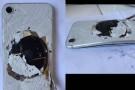 iPhone 8'i şarja takıp bıraktı, döndüğünde patlamış halde buldu