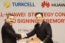 Turkcell ile Huawei yerli üretim için el sıkıştı