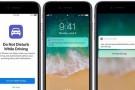 iOS 11 artık trafik kazalarının da önüne geçecek