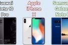 Mate 10 Pro, iPhone X ve Note 8 hız testinde karşı karşıya