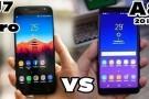 Samsung Galaxy A8 ve Galaxy J7 Pro hız testinde