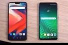 OnePlus 6 ve LG V30 ThinQ hız testinde