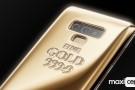Saf Altın Kaplamalı Samsung Galaxy Note 9 Duyuruldu