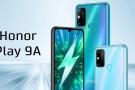 Honor Play 9A resmi olarak duyuruldu