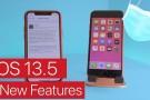 Apple, iOS 13.5 güncellemesini yayınladı