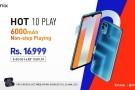 Infinix Hot 10 Play resmi olarak duyuruldu