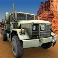 Army trucks driver