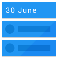 Calendar Widget: Agenda