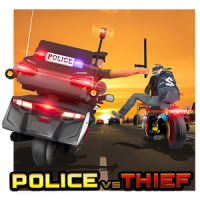 Police vs Thief MotoAttack