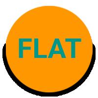 Round Flat - Free Iconpack