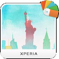 XPERIA™ Cityscape NY Theme